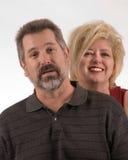 couples plus anciens Photo stock