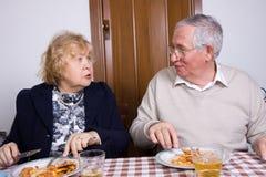 Couples pluss âgé Image libre de droits