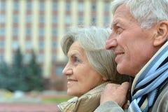 Couples pluss âgé beaux Photos stock