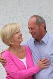 Couples pluss âgé dans l'amour Images libres de droits