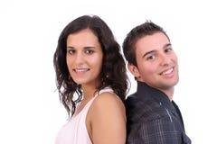 couples posant des jeunes Photo libre de droits