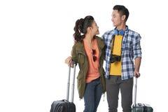 Couples prêts à se déplacer Photos libres de droits