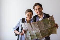 Couples prêts à se déplacer Image stock