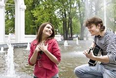 couples premier de rendez-vous Image stock
