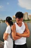 Couples prenant les d?cisions 11 image stock