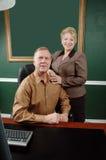 Couples professionnels d'affaires Photos libres de droits
