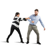 Couples quarrel stock photos
