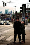 Couples réussis des professionnels Image libre de droits