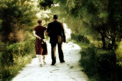 Couples rêveurs Photo stock