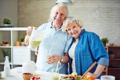 Couples retirés Images stock