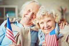Couples retirés Photographie stock
