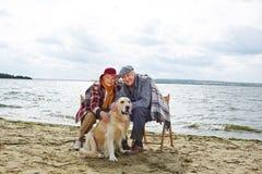 Couples retirés Photographie stock libre de droits