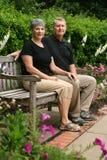 Couples retirés aînés Images stock