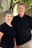 Couples retirés aînés Image libre de droits