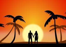 Couples Retreat Royalty Free Stock Photography
