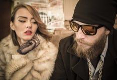Couples riches photos stock