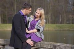Couples romantiques Photographie stock libre de droits