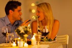 Couples romantiques Images libres de droits