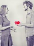 Couples romantiques le jour de valentines Concept d'amour Photographie stock libre de droits