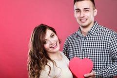 Couples romantiques le jour de valentines Concept d'amour Images libres de droits