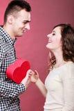 Couples romantiques le jour de valentines Concept d'amour Images stock