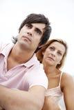 Couples sérieux Photographie stock