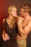 Couples sérieux Photos stock
