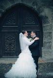 Couples sales de mariage Photo stock