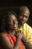 Couples satisfaits Photographie stock libre de droits