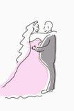Couples se mariant  Photo stock