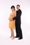 Couples se préparant à la chéri Photographie stock libre de droits