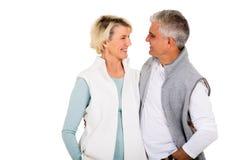Couples se regardant Image libre de droits
