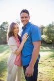 Couples se tenant ensemble Photos stock