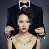 Couples sensuels images stock