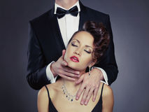 Couples sensuels Photos stock