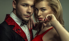 Couples sensuels Photographie stock libre de droits