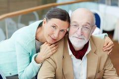 Couples sereins Images libres de droits