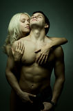 Couples sexy Photos libres de droits