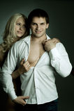 Couples sexy Photo libre de droits