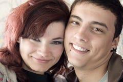 Couples souterrains Images libres de droits