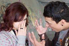 Couples souterrains Photographie stock libre de droits