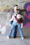 Couples souterrains Images stock