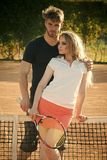 Couples sportifs images stock