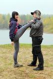 couples sportifs Photo stock