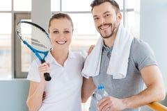 Couples sportifs Photos stock