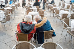 Couples supérieurs Photographie stock libre de droits