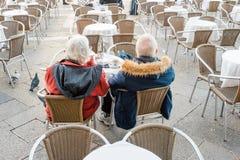 Couples supérieurs Photo libre de droits