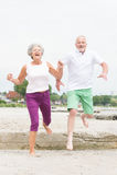 Couples supérieurs actifs Images libres de droits