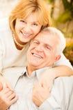 Couples supérieurs dans l'amour Photos libres de droits