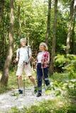 Couples supérieurs dans la nature Photo stock